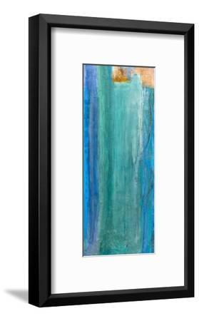 Teal Waters-Gabriella Lewenz-Framed Art Print