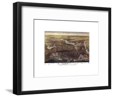 The City of Boston, Massachusetts, 1873-Parsons and Atwater-Framed Art Print