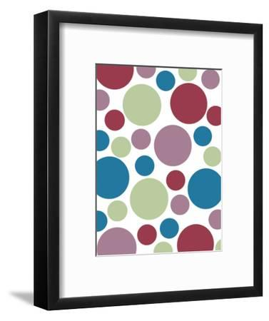 Tutti-Frutti Spots-Denise Duplock-Framed Art Print