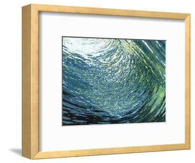 Underwater Movement-Margaret Juul-Framed Art Print