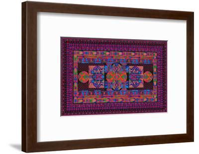 Tribal Display-Lawrence Chvotzkin-Framed Art Print