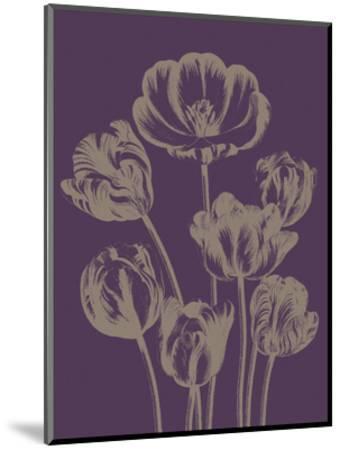 Tulip 13-Botanical Series-Mounted Art Print