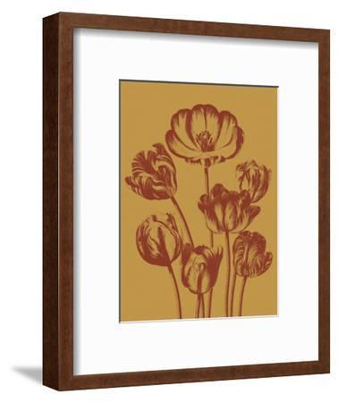 Tulip 15-Botanical Series-Framed Art Print
