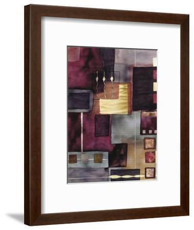 Velvet Jigsaw-Muriel Verger-Framed Art Print