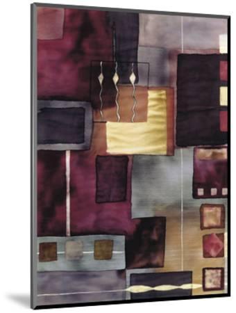 Velvet Jigsaw-Muriel Verger-Mounted Art Print