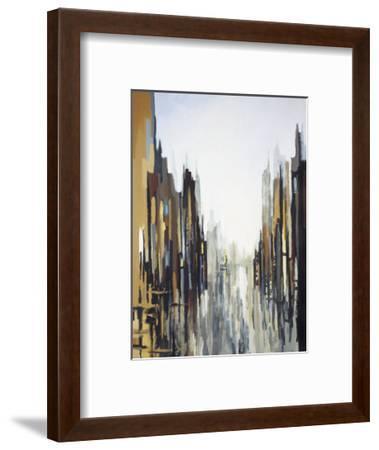 Urban Abstract No. 141-Gregory Lang-Framed Art Print