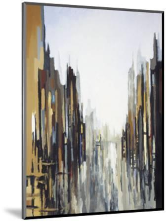 Urban Abstract No. 141-Gregory Lang-Mounted Art Print