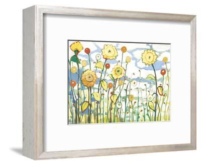 Watching the Clouds Go By-Jennifer Lommers-Framed Art Print