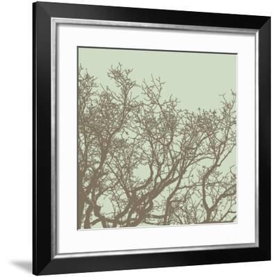 Winter Tree II-Erin Clark-Framed Art Print