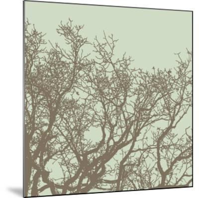 Winter Tree II-Erin Clark-Mounted Art Print