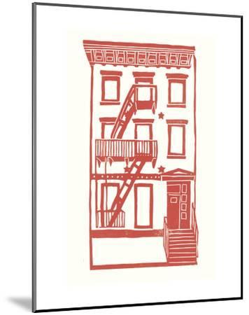 Williamsburg Building 7 (S. 4th and Driggs Ave.)-live from bklyn-Mounted Art Print