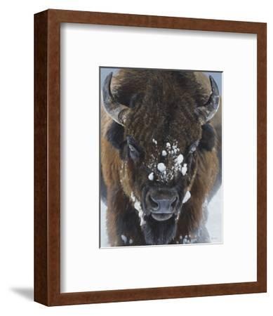 Winter Warrior-Terry Isaac-Framed Art Print