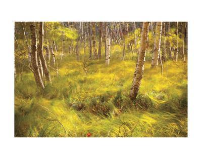 Whispering Grass-Michael Hudson-Framed Art Print