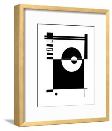 Ying & Yang-Dominique Gaudin-Framed Art Print