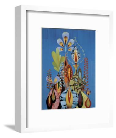 Evernia-Rex Ray-Framed Art Print