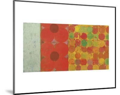 Flowers and Dots #1-Bill Mead-Mounted Art Print