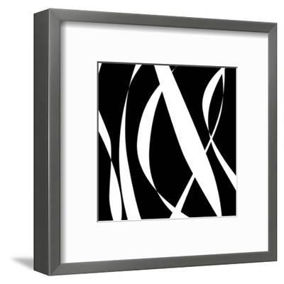Fistral Nero Blanco III-Denise Duplock-Framed Art Print