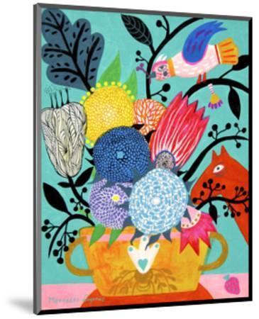 Flowers n. 8-Mercedes Lagunas-Mounted Art Print