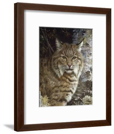 Forest Sentinel (detail)-Carl Brenders-Framed Art Print
