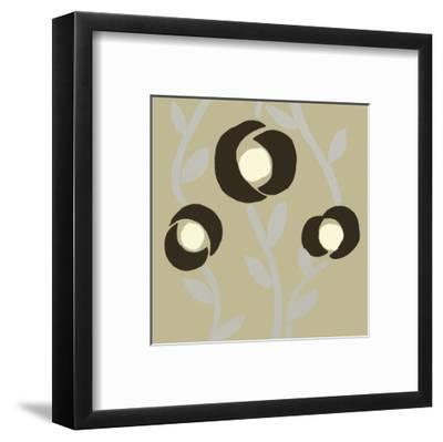 Fiori Olive-Denise Duplock-Framed Art Print