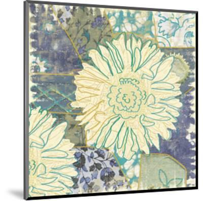 Flower with Fabric-Erin Clark-Mounted Art Print