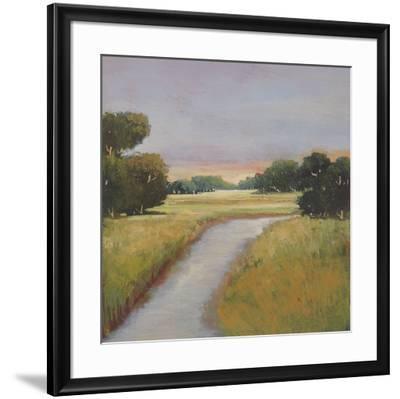Golden Marsh-Adina Langford-Framed Art Print