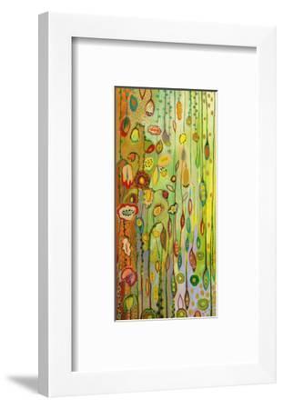 Garden Lights-Jennifer Lommers-Framed Art Print