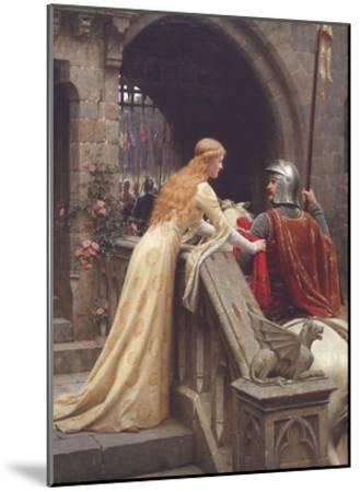 God Speed-Edmund Leighton-Mounted Art Print
