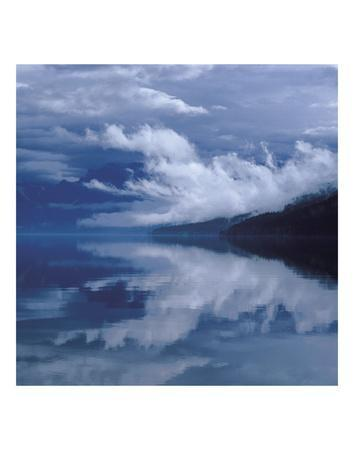 Glacial Mist-Phillip Mueller-Framed Art Print
