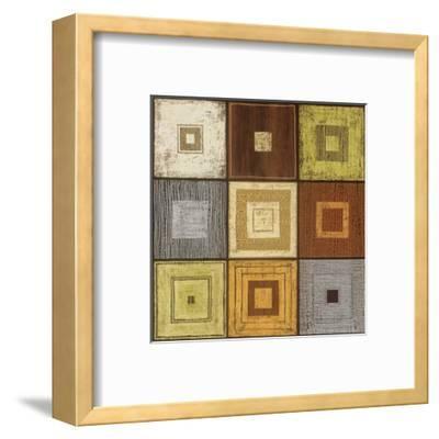 Geometric Grid-Anna Becker-Framed Art Print