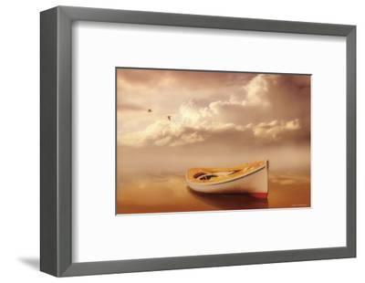 Hazy Summer Evening-Carlos Casamayor-Framed Art Print