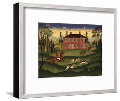 Hart Hunt-Diane Ulmer Pedersen-Framed Art Print