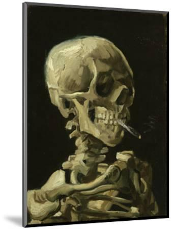 Head of a Skeleton with a Burning Cigarette, 1886-Vincent van Gogh-Mounted Art Print