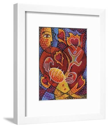 Hearts on Fire-Jim Dryden-Framed Art Print