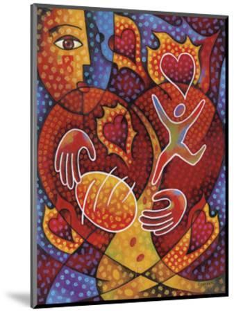 Hearts on Fire-Jim Dryden-Mounted Art Print