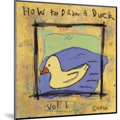 How to Draw a Duck-Brian Nash-Mounted Art Print