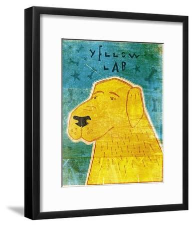 Lab (yellow)-John W^ Golden-Framed Art Print