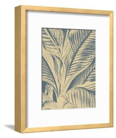 Leaf 2-Botanical Series-Framed Art Print