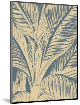 Leaf 2-Botanical Series-Mounted Art Print
