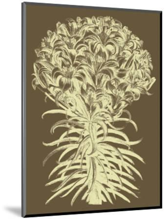 Lilies 3-Botanical Series-Mounted Art Print