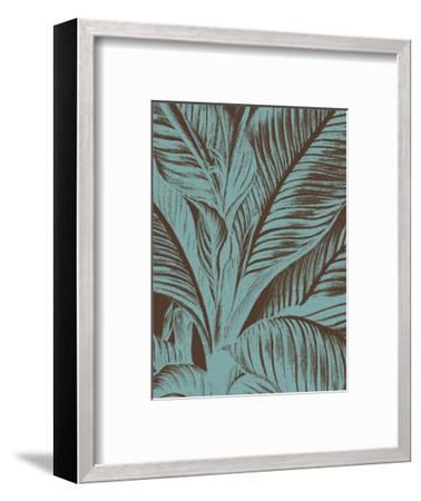Leaf 6-Botanical Series-Framed Art Print