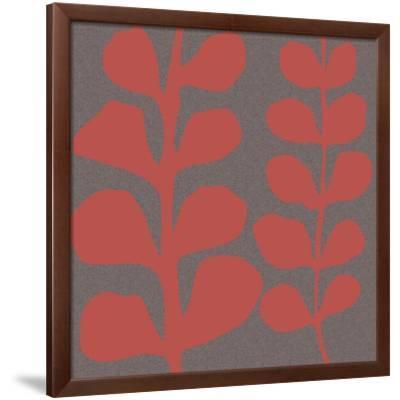 Maidenhair Coral Stem (double)-Denise Duplock-Framed Giclee Print