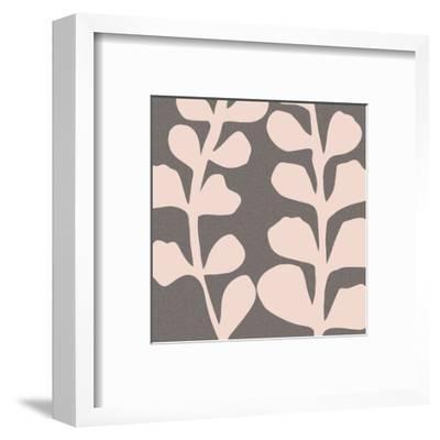 Maidenhair Shell Pink-Denise Duplock-Framed Art Print