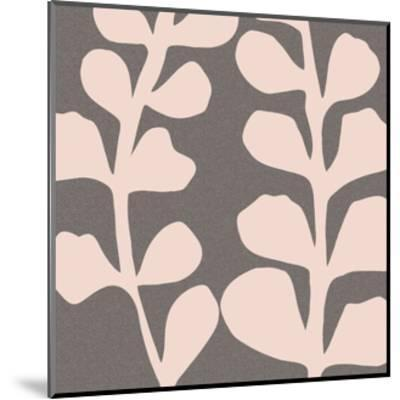 Maidenhair Shell Pink-Denise Duplock-Mounted Art Print