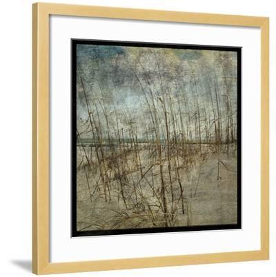 Masonboro Island No. 6-John W^ Golden-Framed Art Print