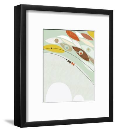 Migration II-Jenn Ski-Framed Art Print
