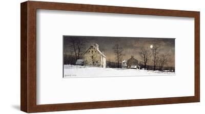 Mill Moon-Ray Hendershot-Framed Art Print