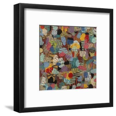 Mod Manhattan #1-Downs-Framed Art Print