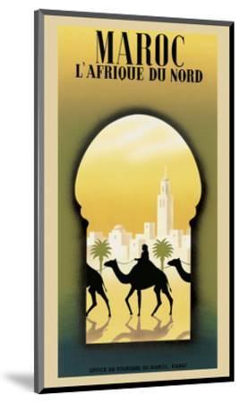 Maroc L'Afrique du Nord-Steve Forney-Mounted Art Print
