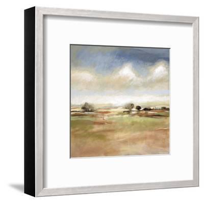 Meditative Journey-T^J^ Bridge-Framed Art Print